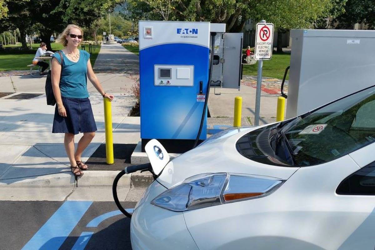 Fast charging station in Squamish (MINISTRY OF ENERGY AND MINES)